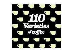 110 Varieties of Coffee