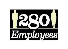 280 Employees