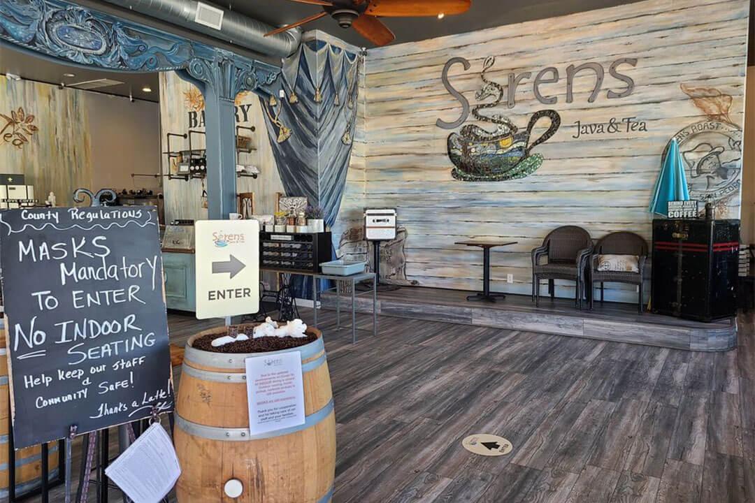 Sirens Java and Tea