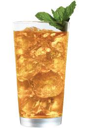 Gavina mango green iced tea
