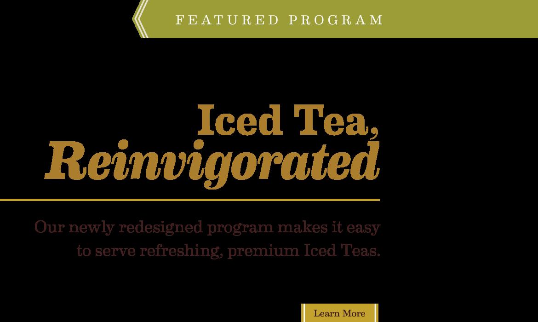 Iced Tea Reinvigorated