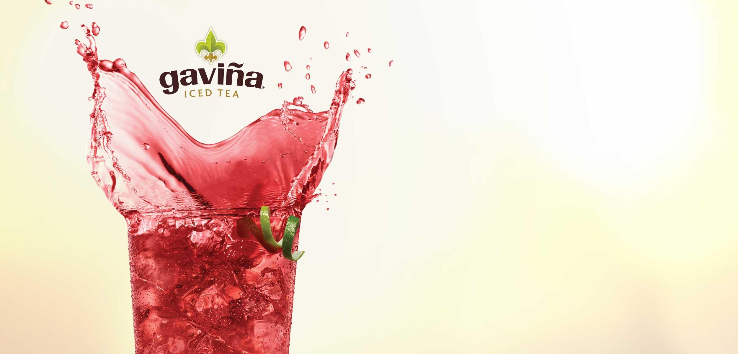 Gavina iced tea