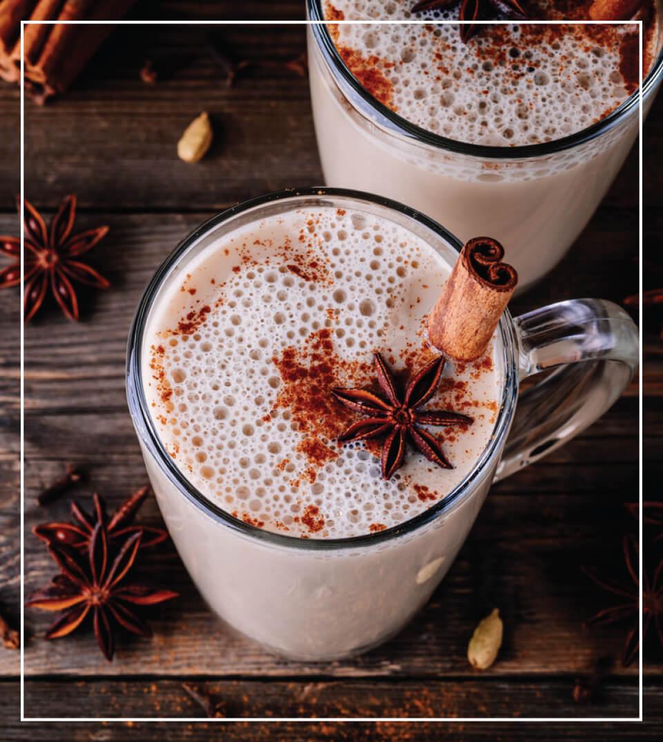 Vanilla Chai Pumpkin Pie Latte